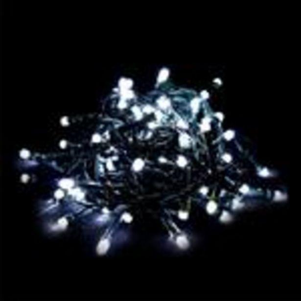 Oferta de Serie de Luces Blancas 6m por $79.99