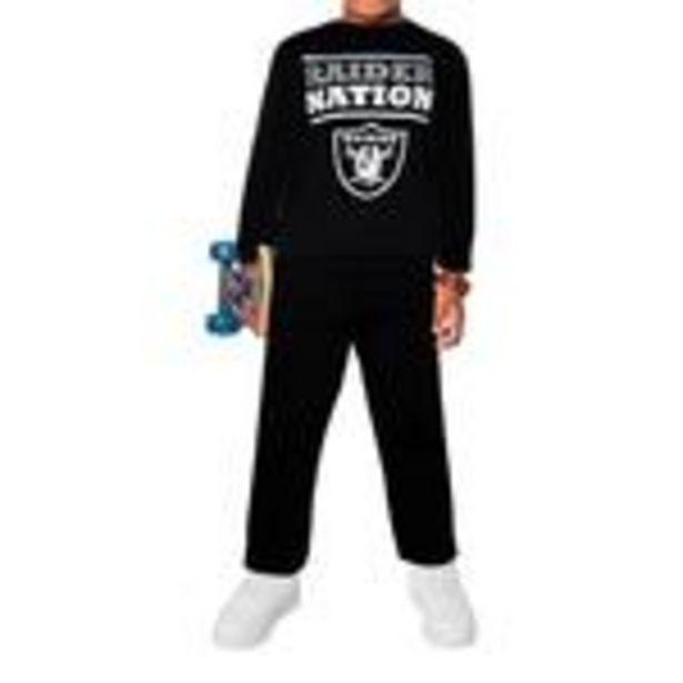 Oferta de Conjunto para Niño NFL Raiders por $99.99