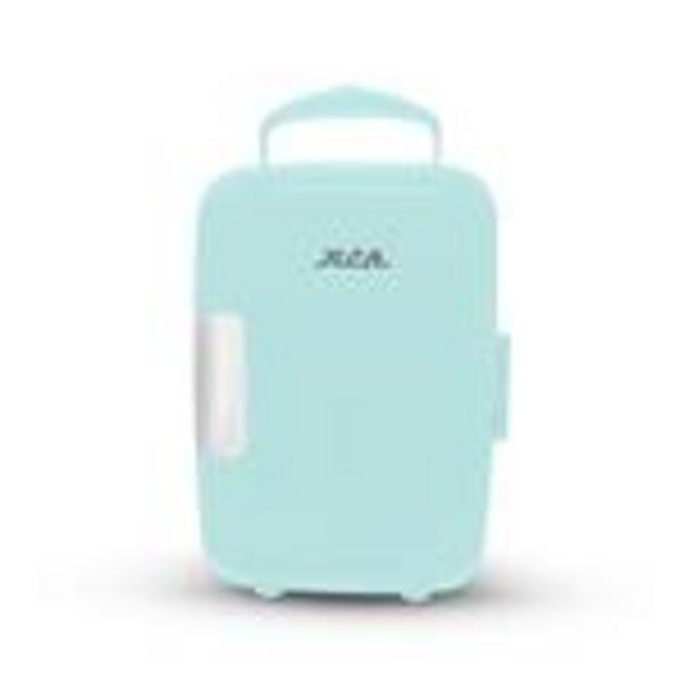 Oferta de Mini Refrigerador RCA Azul Menta por $1299.99