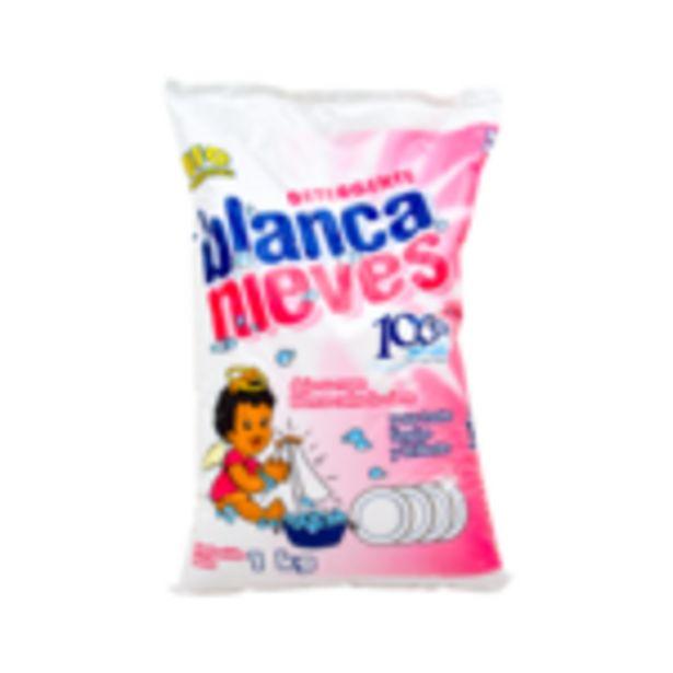 Oferta de Detergente Blanca Nieves 1kg ¡Ropa tan blanca como la nieve! por $34.99