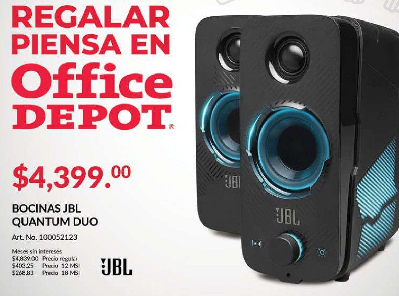 Oferta de Bocinas JBL Quantum Duo por $4399