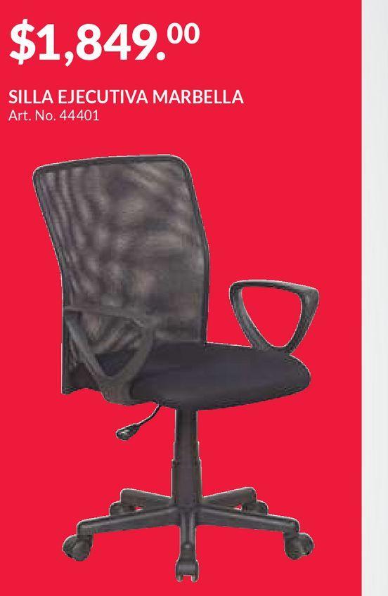 Oferta de Silla de Oficina Red Top Marbella / Malla / Negro por $1849