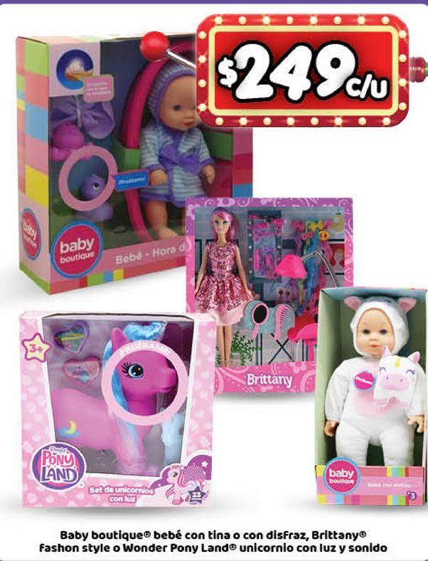 Oferta de Muñecas y bebés Boutique por $249