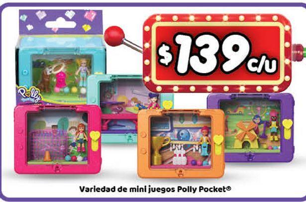 Oferta de Juguetes Polly Pocket por $139