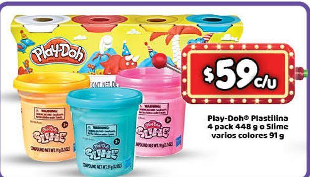 Oferta de Juguetes Play-Doh slime por $59