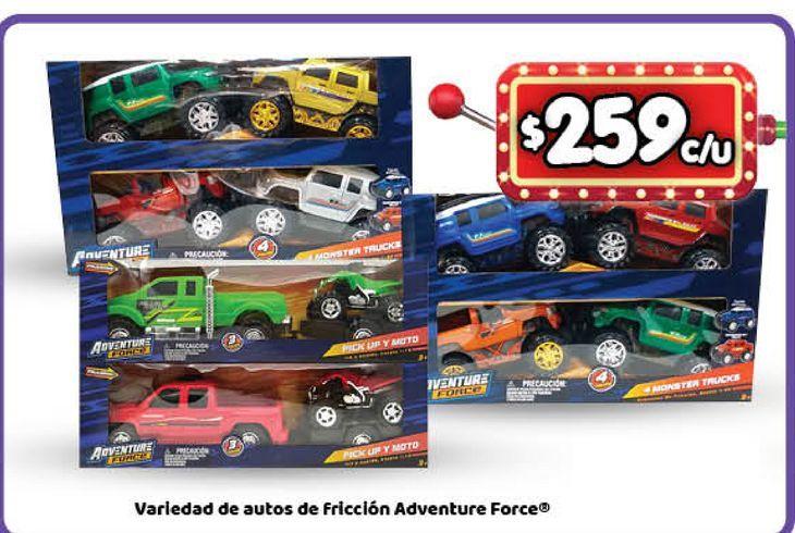 Oferta de Auto de juguete de friccion Adventure force por $259