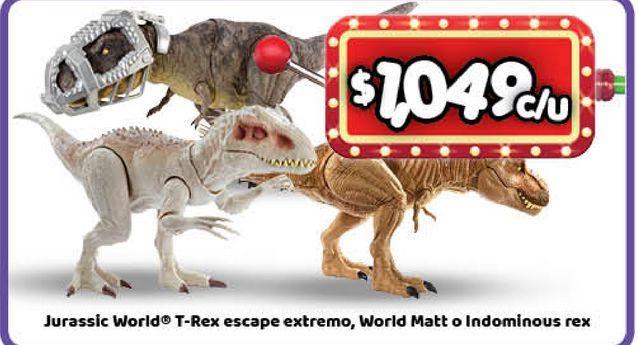 Oferta de Dinosaurios Jurassic World por $1049