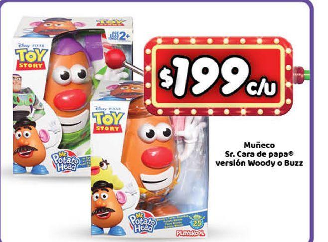 Oferta de Juguetes Toy Story Sr cara de papa por $199