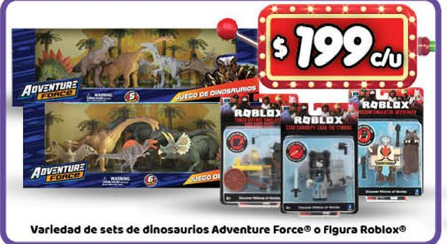 Oferta de Dinosaurios adventure force por $199