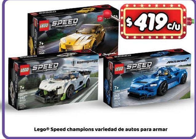 Oferta de Juguetes LEGO por $419