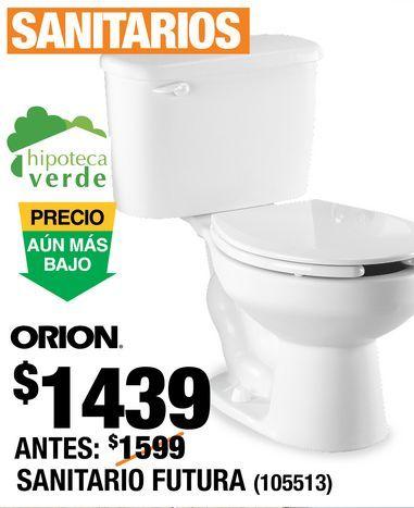 Oferta de Sanitario Futura Orion por $1439