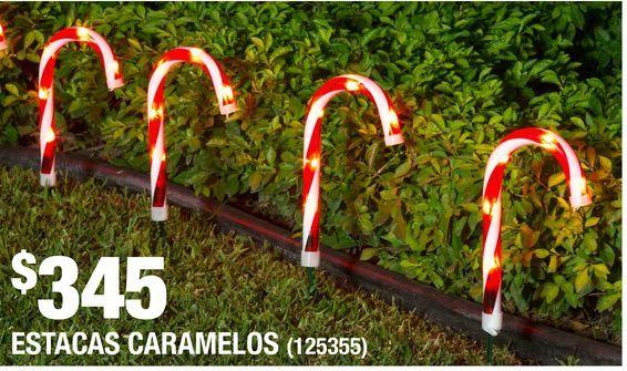 Oferta de Estacas Caramelos por $345