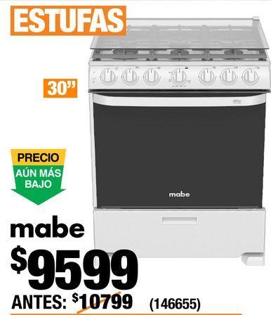 Oferta de Estufa Mabe por $9599