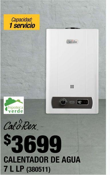 Oferta de Calentador de  Agua Calorex por $3699