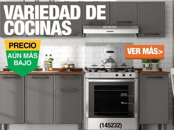 Oferta de Variedad de Cocinas por