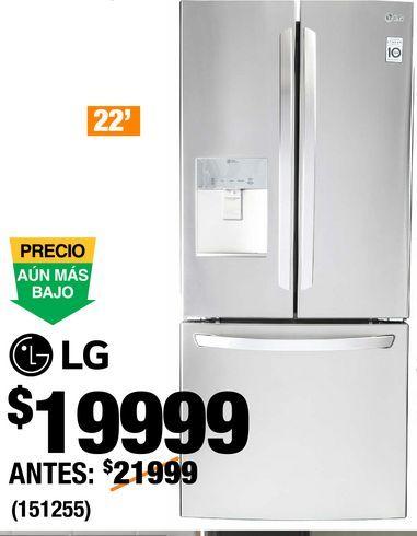 Oferta de Refrigeradores LG por $19999