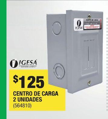 Oferta de CENTRO DE CARGA  por $125