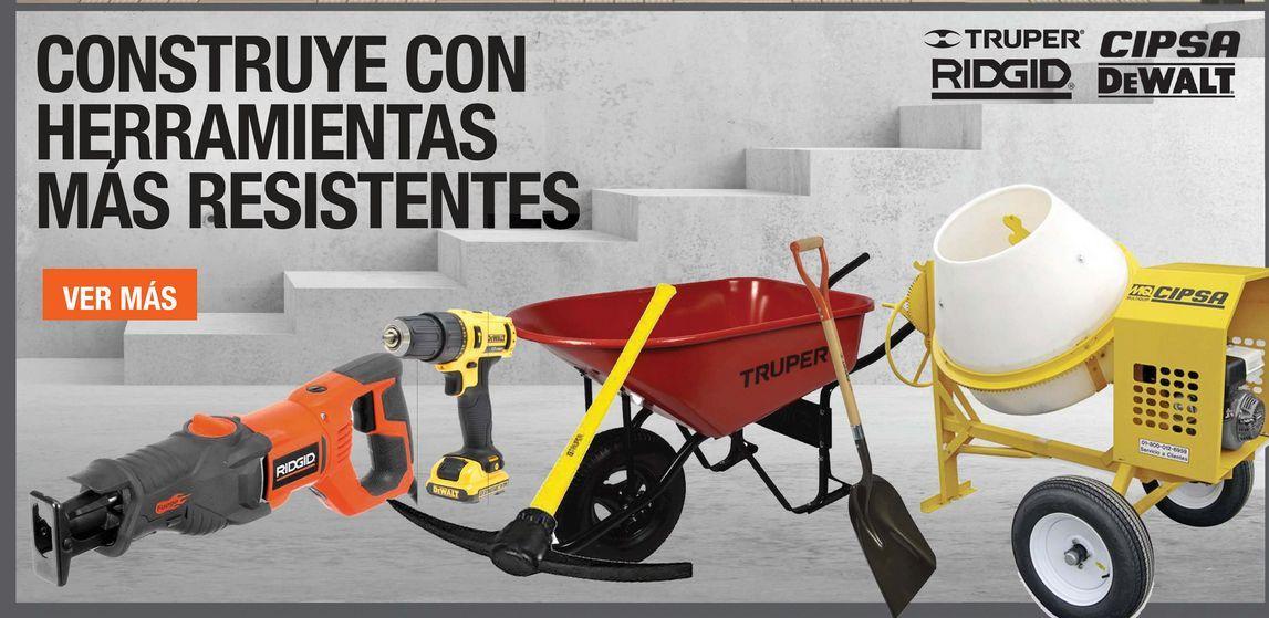 Oferta de CONSTRUYE CON HERRAMIENTAS MAS RESISTENTES  por