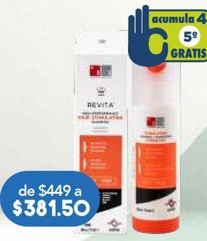 Oferta de REVITA SHAMPOO BTL C/205ML. por $381.5