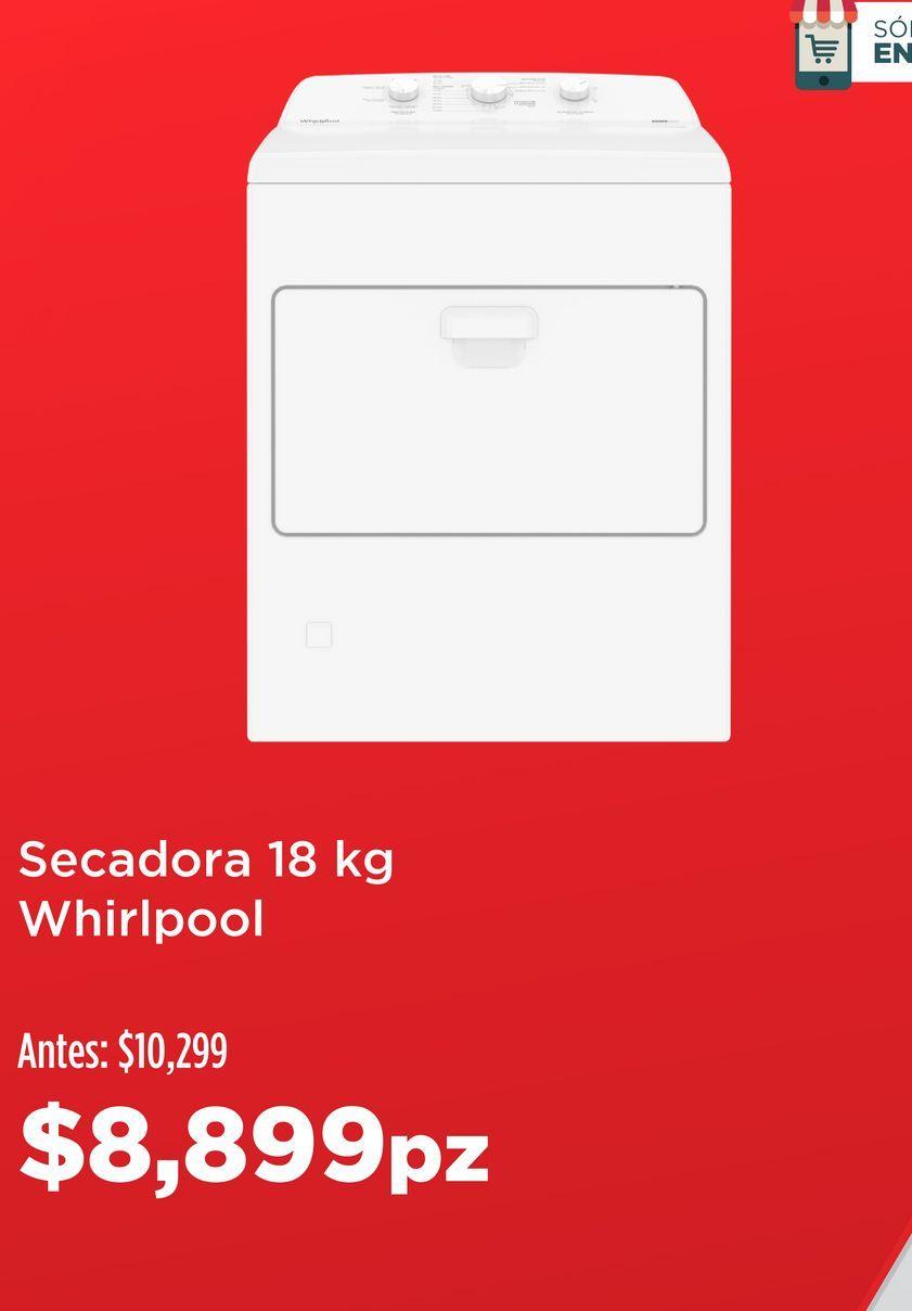 Oferta de Secadora de ropa Whirlpool por