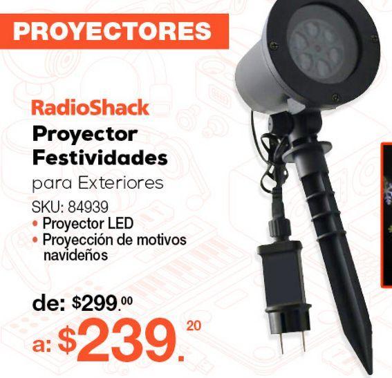 Oferta de PROYECTOR FESTIVIDADES PARA EXTERIORES por $239