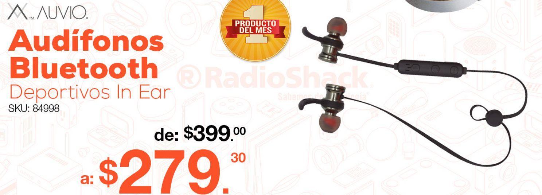 Oferta de Audífonos Bluetooth Deportivos Auvio Sport / In ear / Negro con gris por $279