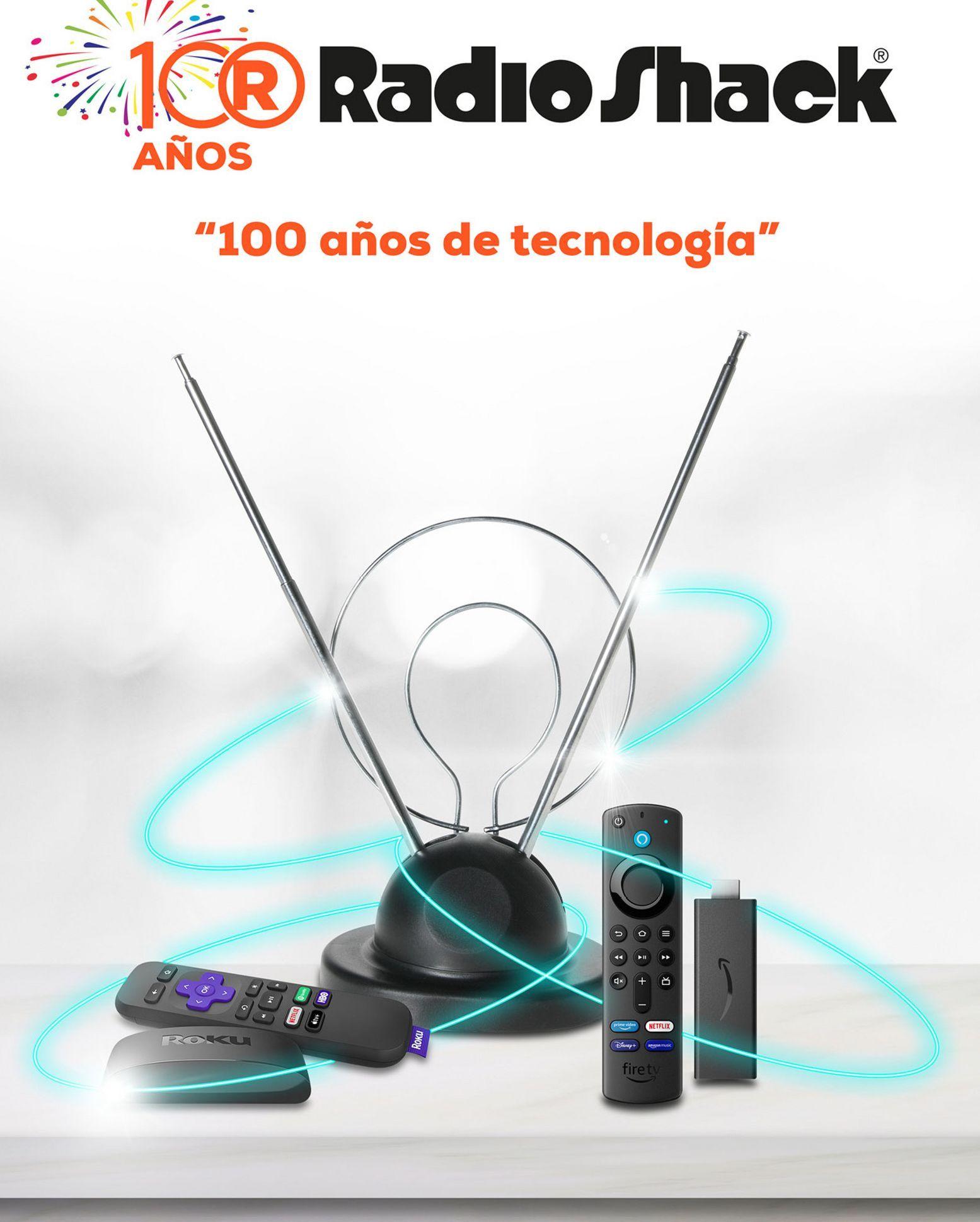 Oferta de  Radioshack 100 años de tecnologia por