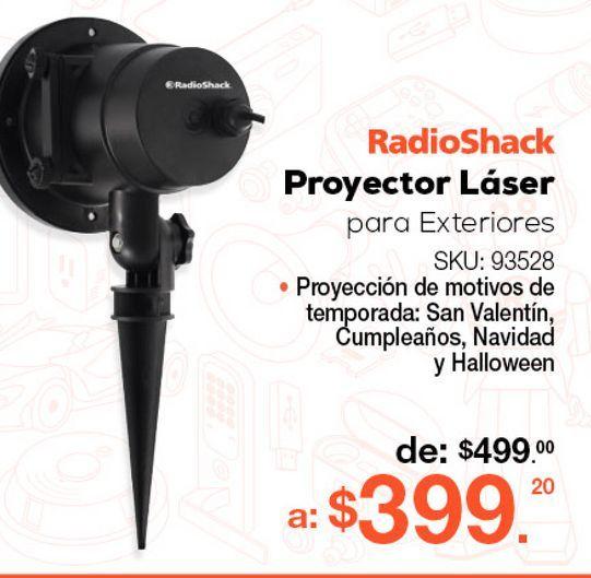 Oferta de Proyector Led para Exteriores Radioshack MXS-7 / Negro por $399