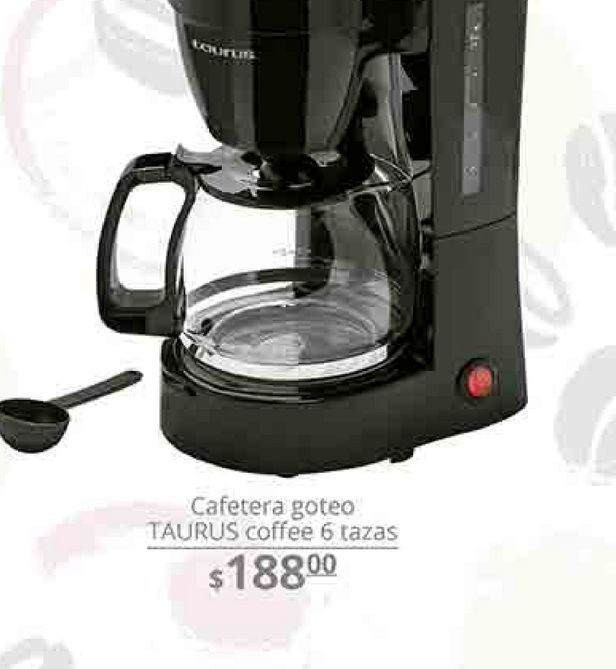 Oferta de Cafetera Taurus por $188