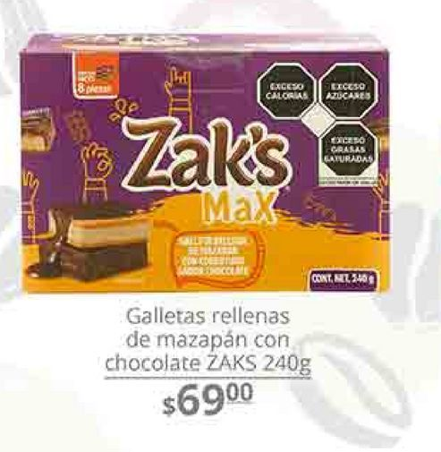 Oferta de Galletas zak's por $69
