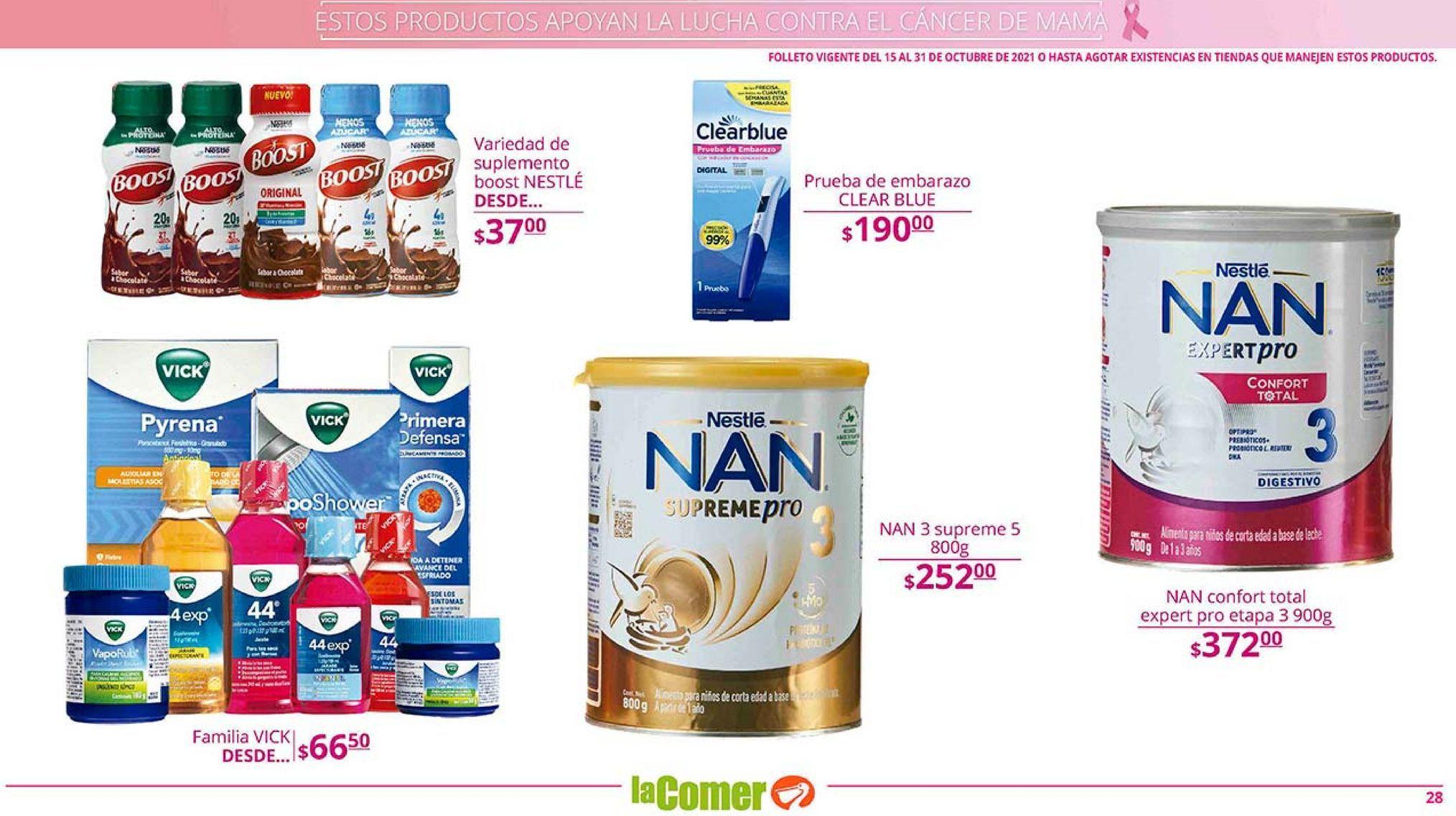 Oferta de Formula láctea por