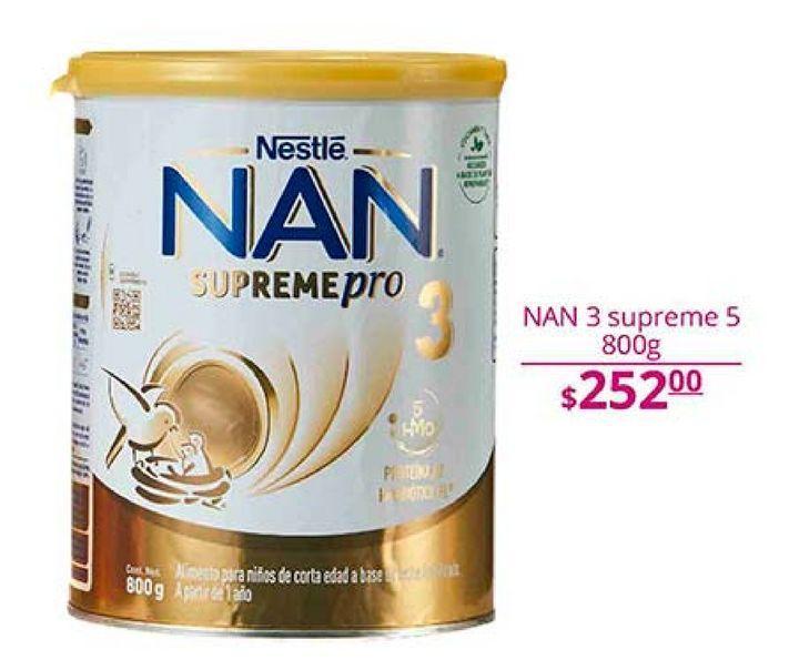 Oferta de Formula láctea NAN por $252