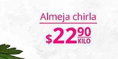 Oferta de Almejas por $22.9
