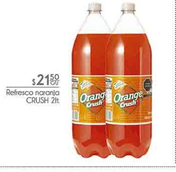 Oferta de Refresco de naranja Crush 2lt por $21.5