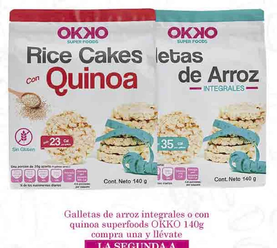 Oferta de Galletas de arroz Okko por