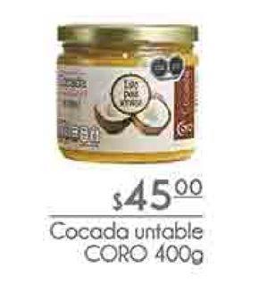 Oferta de Cocada untable CORO 400g por $45