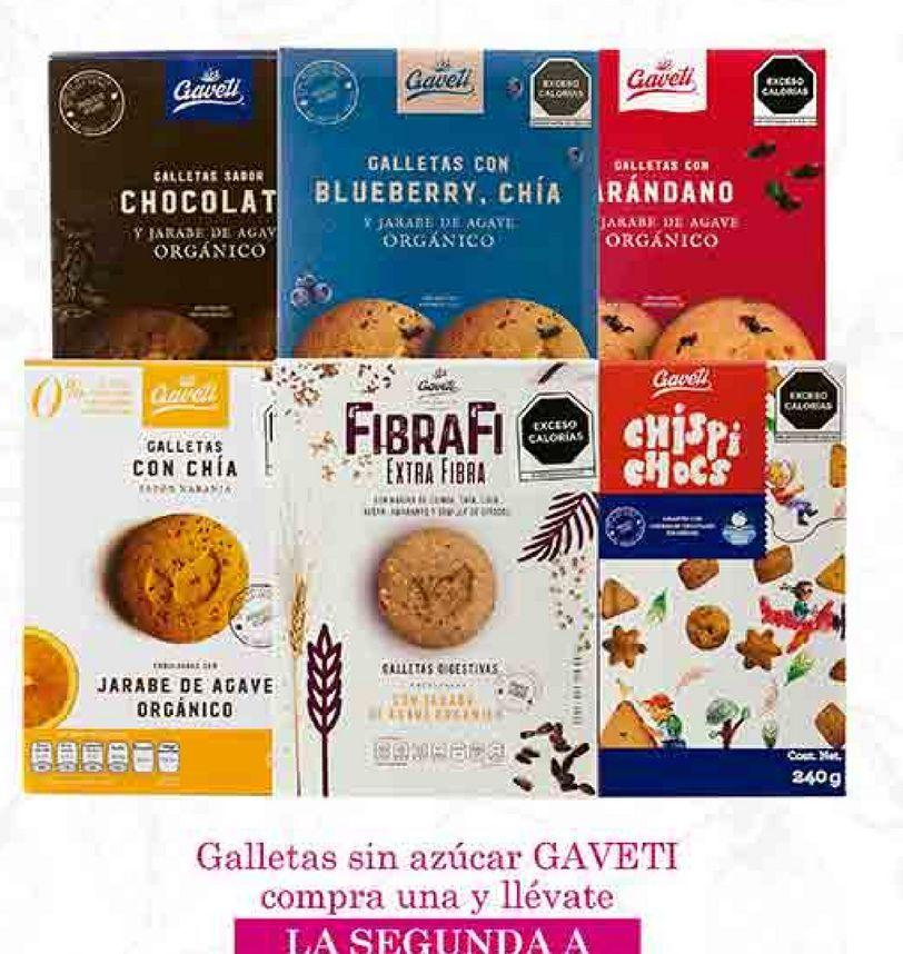 Oferta de Galletas sin azúcar Gaveti por