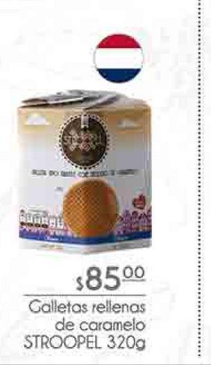 Oferta de Galletas rellenas de caramelo Stroopel 320g por $85