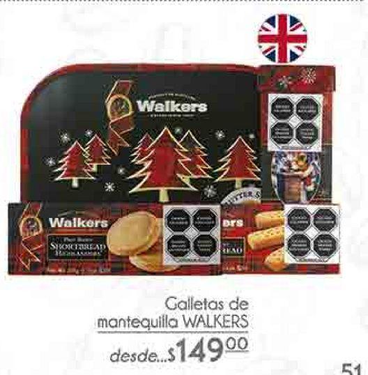 Oferta de Galletas de mantequilla Walkers por $149