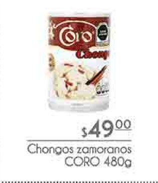 Oferta de Chongos zamoranos CORO 480g por $49