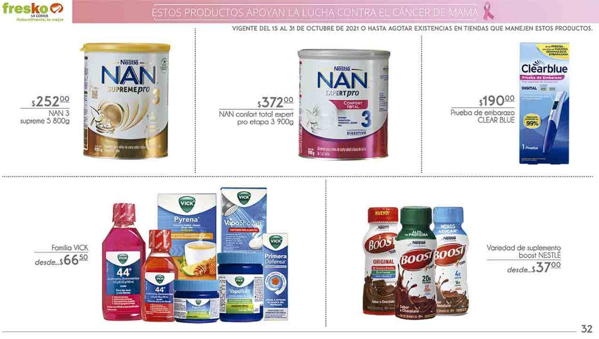 Oferta de Formula láctea NAN por