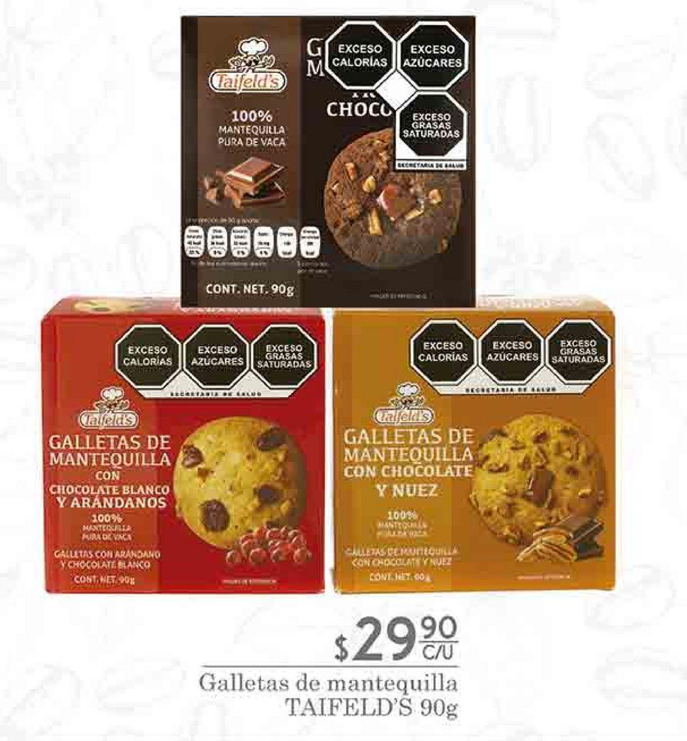 Oferta de Galletas de mantequilla Taifeld's por $29.9