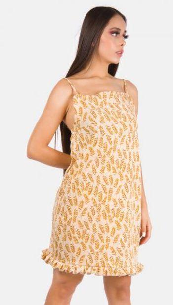 Oferta de Vestido mini estampado por $219