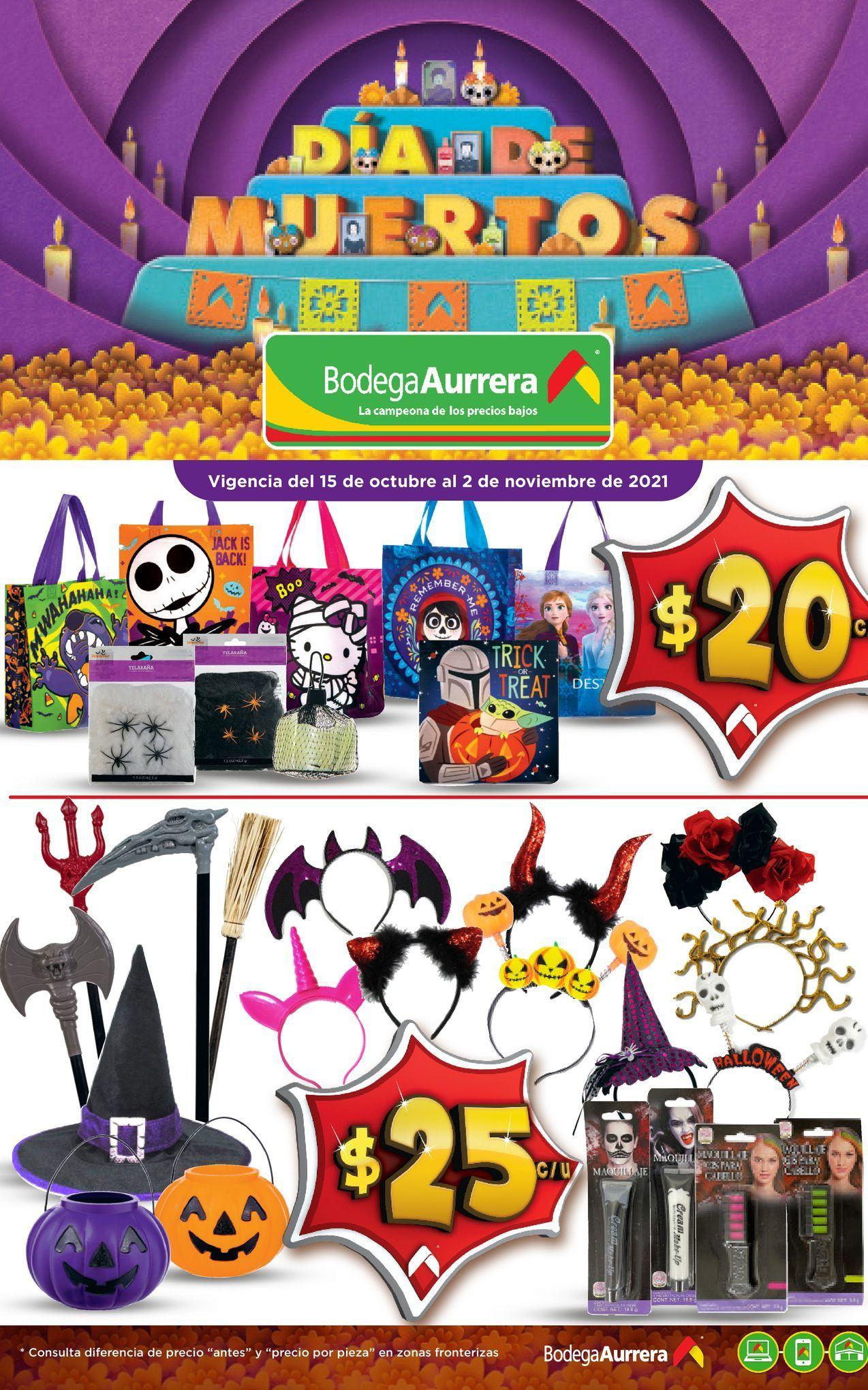 Oferta de Disfraces de Halloween por