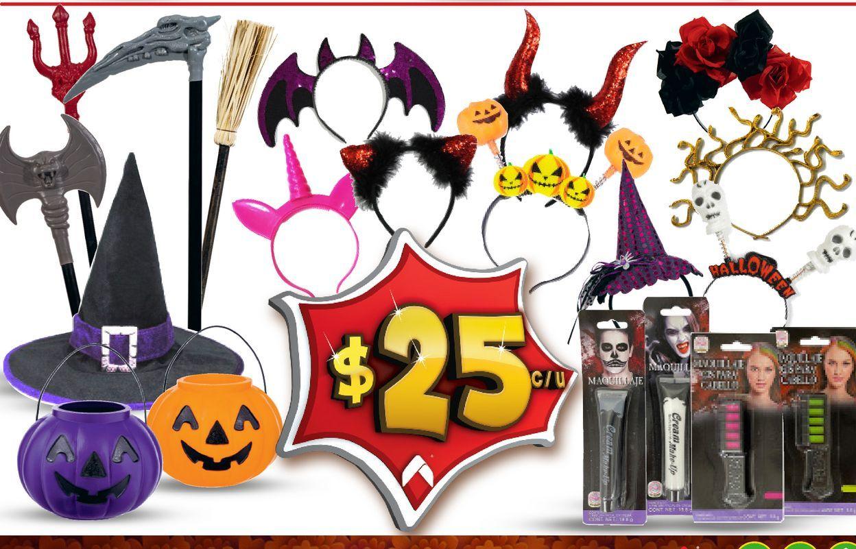 Oferta de Disfraces de Halloween por $25
