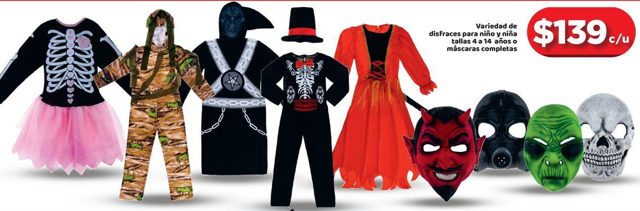 Oferta de Disfraces de Halloween por $139