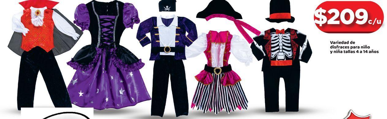 Oferta de Disfraces de Halloween por $209