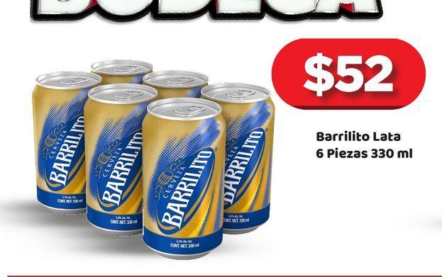 Oferta de Cerveza Barrilito por $52