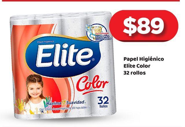 Oferta de Papel Higiénico Elite por $89