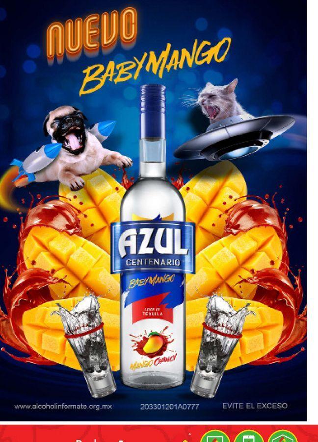 Oferta de Tequila Azul por